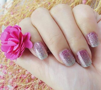 PINK Nova Nail DSN672 Made her Blush 6 Ombre Pink Nails