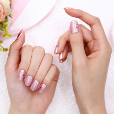 FDS454 Dry Nail Wild Flowers 4