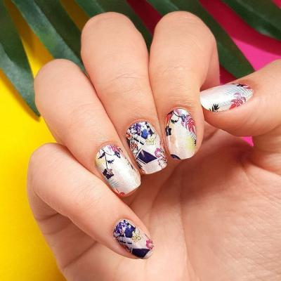 KDS167 Dry Nail Design Summer Night 4